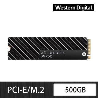 【WD 威騰】黑標 SN750 500GB M.2 2280 PCIe Gen NVMe 固態硬碟+【LINE MUSIC】FUN 365天禮物卡(鈴聲方案)