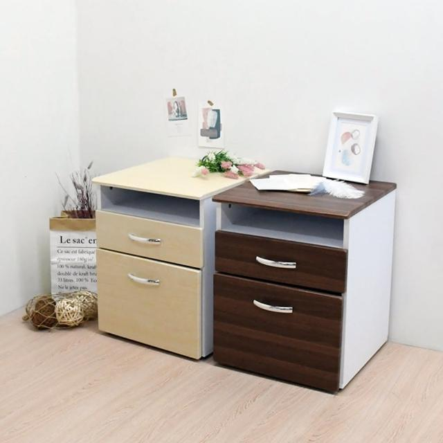 【喬艾森】台灣製一格二抽公文櫃 收納櫃 置物櫃 床頭櫃 邊櫃(一格二抽公文櫃)