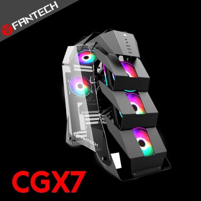 【FANTECH】鋼鐵暴龍CGX7 RGB電競電腦主機機箱