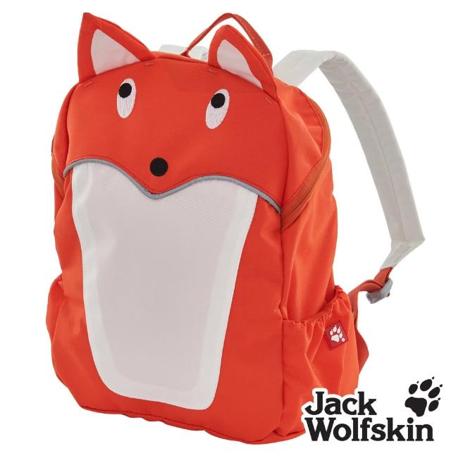 【Jack wolfskin 飛狼】Fox 可愛狐狸兒童背包(橘)