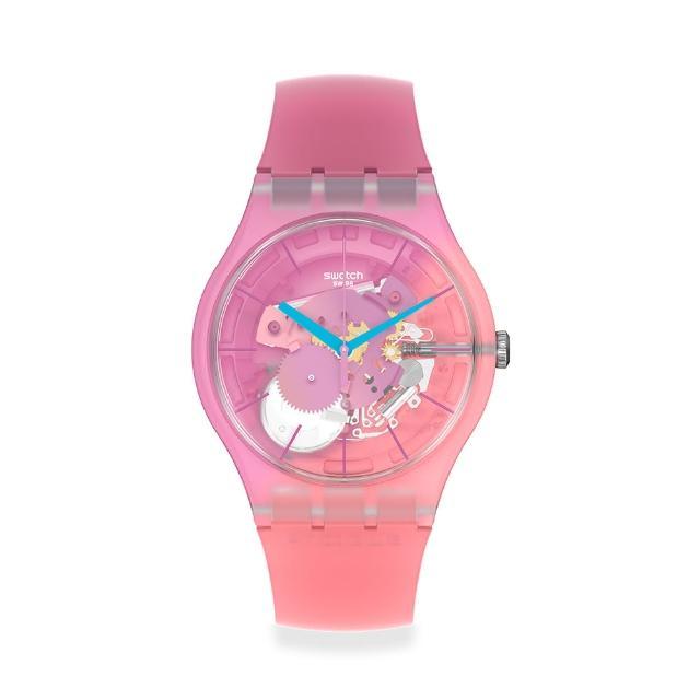 【SWATCH】New Gent 原創系列手錶SUPERCHARGED PINKS 粉紅香檳(41mm)