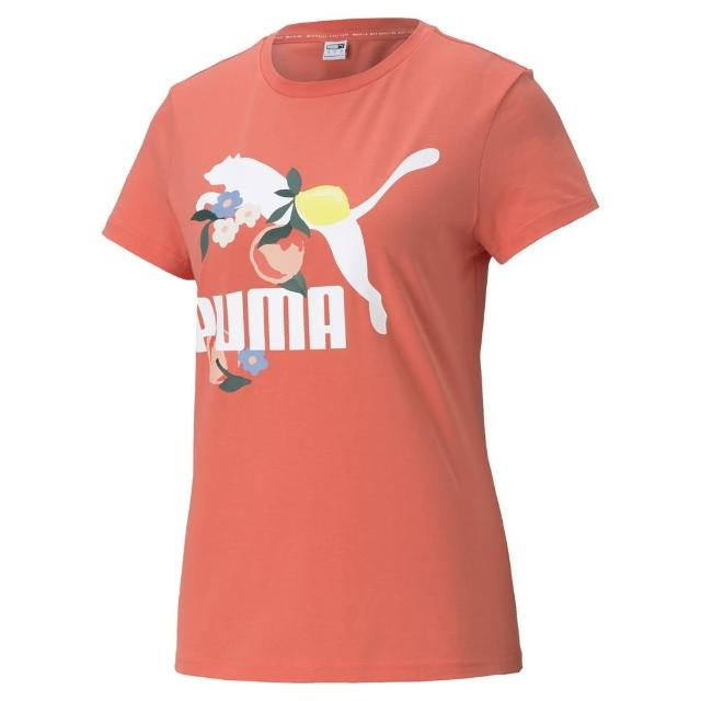 【PUMA官方旗艦】流行系列Classics印花短袖T恤 女性 59961724