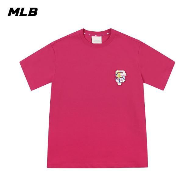 【MLB】短袖T恤 棕梠樹圖案Logo 舊金山巨人隊(31TSX2131-14P)