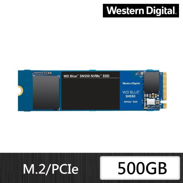 【外接盒組】【WD 威騰】藍標 SN550 500GB M.2 2280 PCIe Gen 固態硬碟+華碩 ROG Strix Arion Lite外接盒
