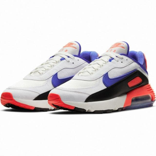 【NIKE 耐吉】慢跑鞋/運動鞋 AIR MAX 2090 EOI 男鞋 氣墊 避震 白/紫/黑(DA9357100)
