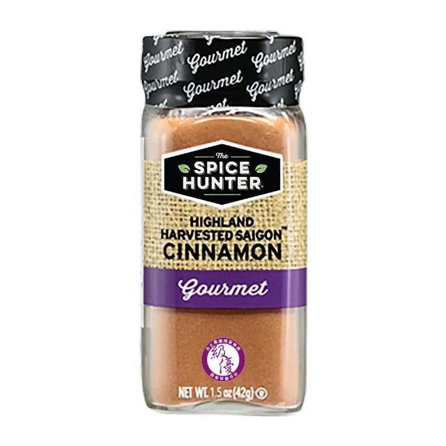 【Spice Hunter 香料獵人】美國原裝進口 級優肉桂粉(42g)