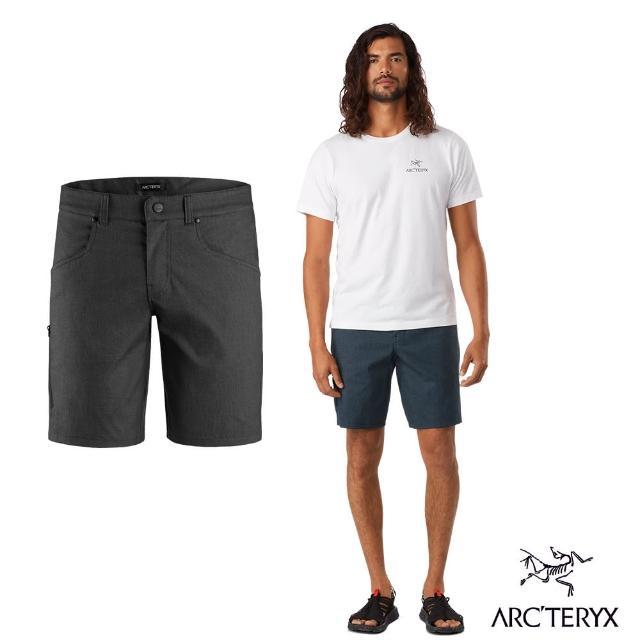 【Arcteryx 始祖鳥】男 24系列 Phelix 防潑水 休閒 短褲(碳纖維灰)