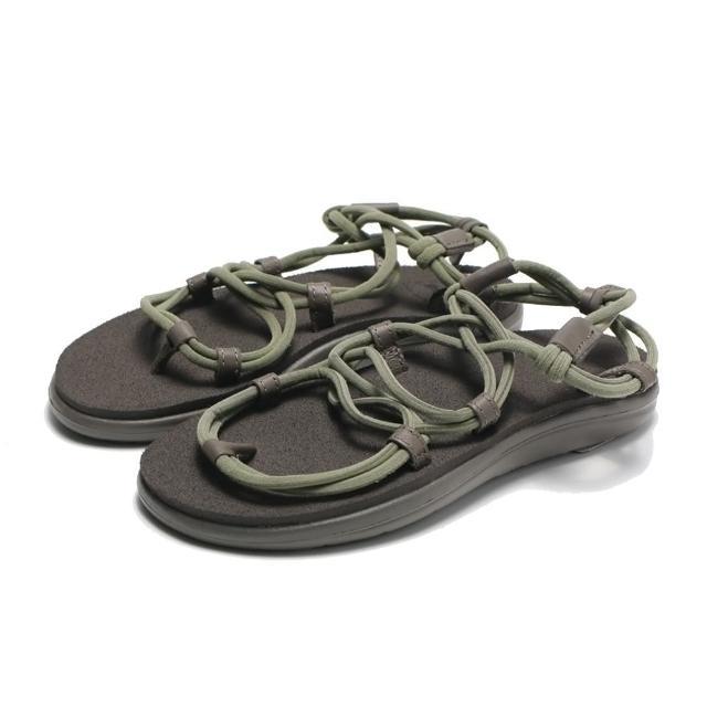 【TEVA】涼鞋 橄欖綠 綁帶 休閒 VOYA INFINITY 女(TV1116690DOL)