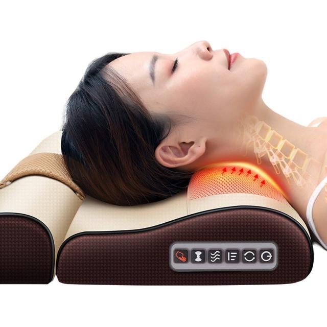 多功能頸椎按摩枕