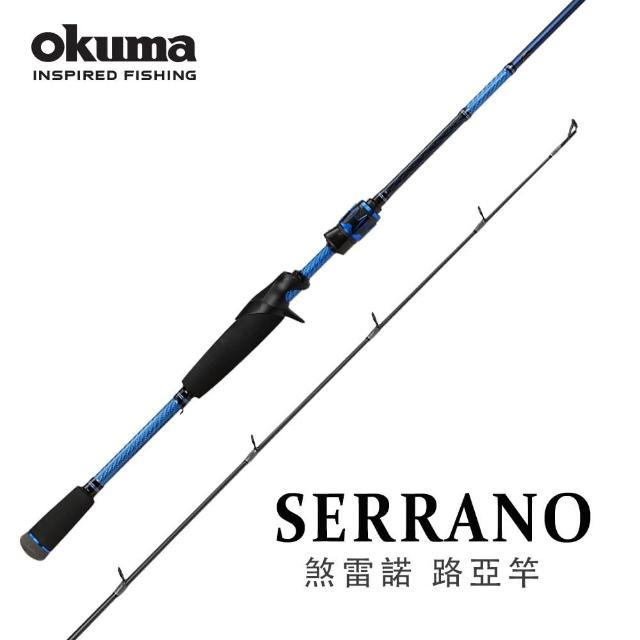 OKUMA【OKUMA】Serrano 煞雷諾 槍柄路亞竿-10呎XH(岸拋青物釣法適用)