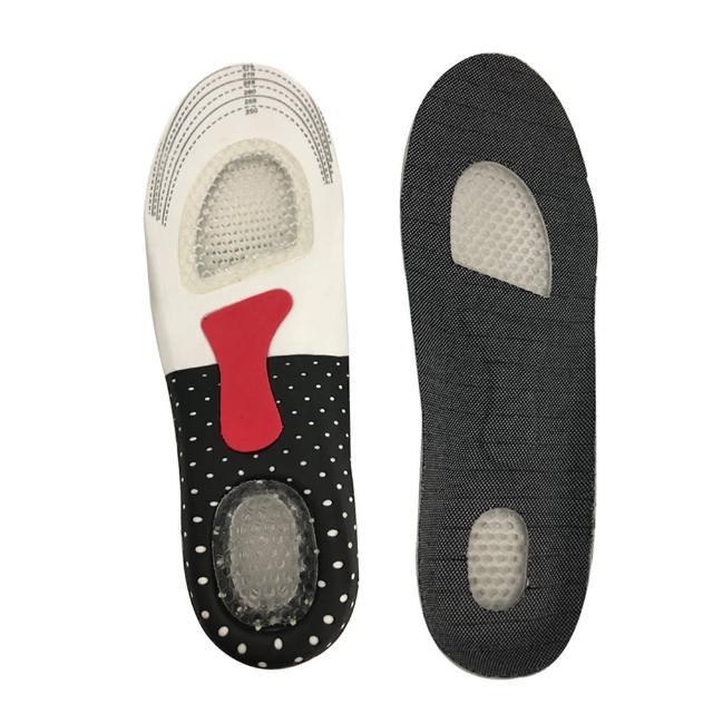 【酷比高】專利鞋墊 足部超導舒壓器 透氣按摩鞋墊3雙(蜂巢緩衝彈性減壓 鞋墊 足弓支撐磁性鞋墊)