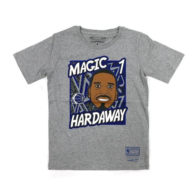 【NBA】M&N NBA 青少年 球員肖像 短袖上衣 魔術隊 #1 Penny Hardaway(WN2B7BME8-MAGAH)