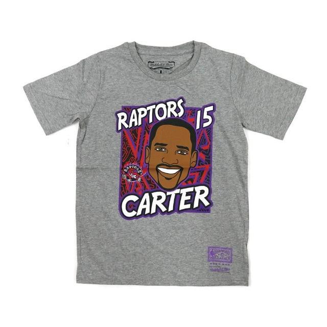 【NBA】M&N NBA 青少年 球員肖像 短袖上衣 暴龍隊 #15 Vince Carter(WN2B7BME8-RAPVC)