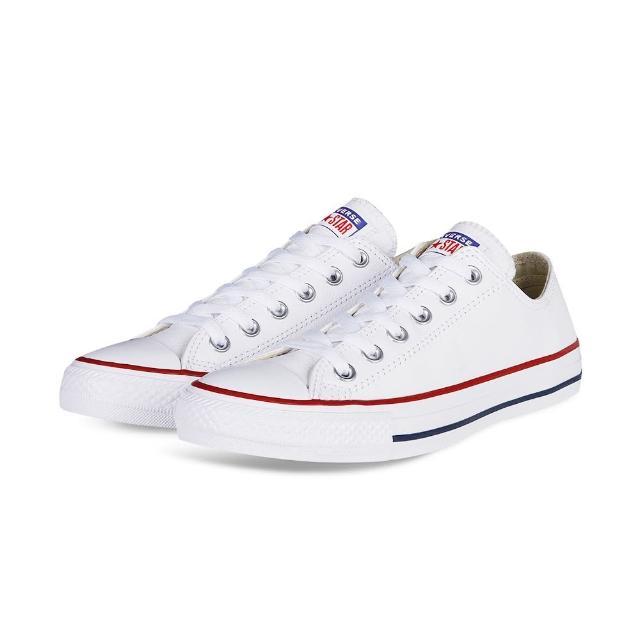 【CONVERSE】CT All Star LTHR 低筒 皮革 休閒鞋 男女 白色(132173C)