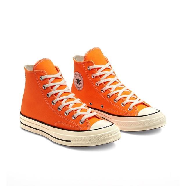 【CONVERSE】CHUCK 70 HI 高筒 休閒鞋 男女 橘色(167700C)