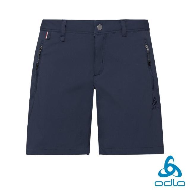 【ODLO】女 WEDGEMOUNT 快乾短褲(海軍藍)