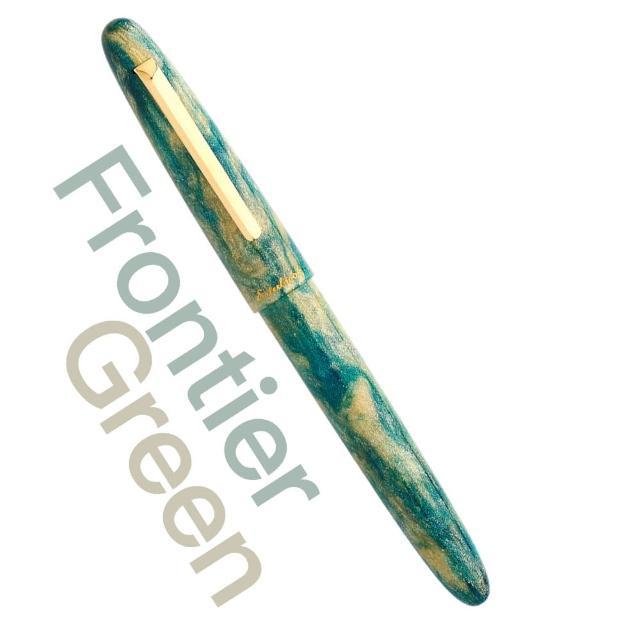 【Esterbrook】Esterbrook Gold Rush Frontier Green 綠色季節限定款(鋼筆禮盒組)