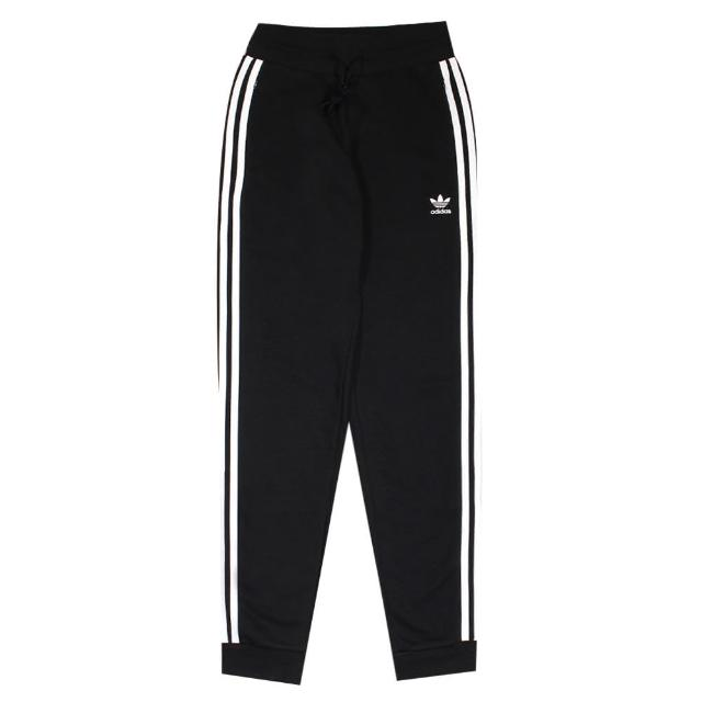 【adidas 愛迪達】運動棉長褲 SLIM PANTS 女 - GD2255