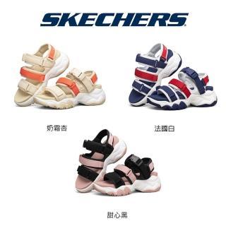 SKECHERS四段專利運動涼鞋-2021全新進化