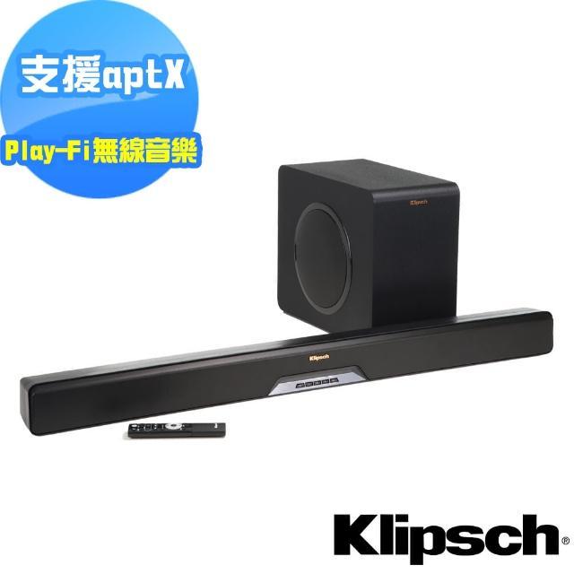【Klipsch】2.1聲道單件式環繞SoundBar RSB-14(送清淨機AP-002+光纖線)