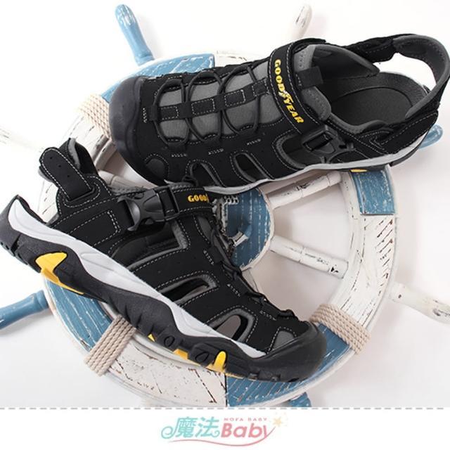 【魔法Baby】男運動鞋 護趾防滑運動涼鞋(sa13760)