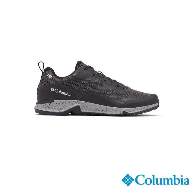【Columbia 哥倫比亞】男款- Outdry防水健走鞋-黑色(UBM00770BK / 健走.運動.防水)