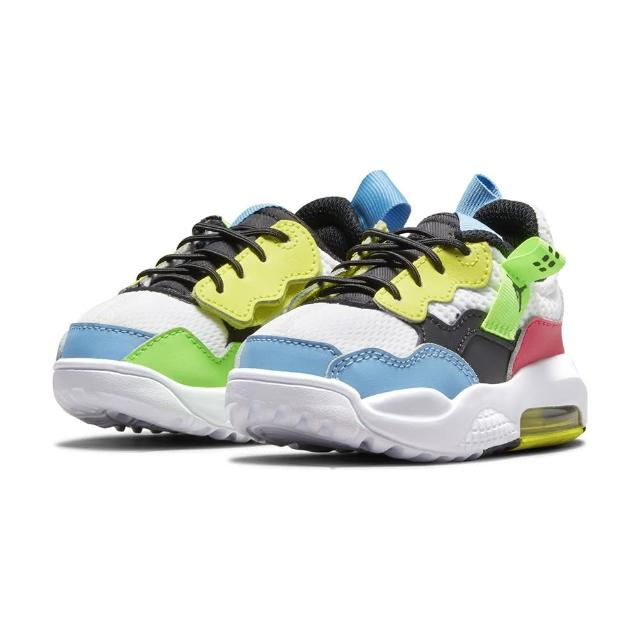 【NIKE 耐吉】慢跑鞋 小童 童鞋 兒童 運動鞋 喬丹 氣墊 緩震 JORDAN MA2 TD 白藍紅 CW6596-110