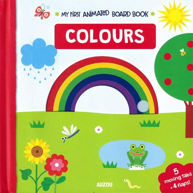 【Song Baby】My First Animated Board Book:Colours 我的第一本推拉小書:顏色篇(操作書)