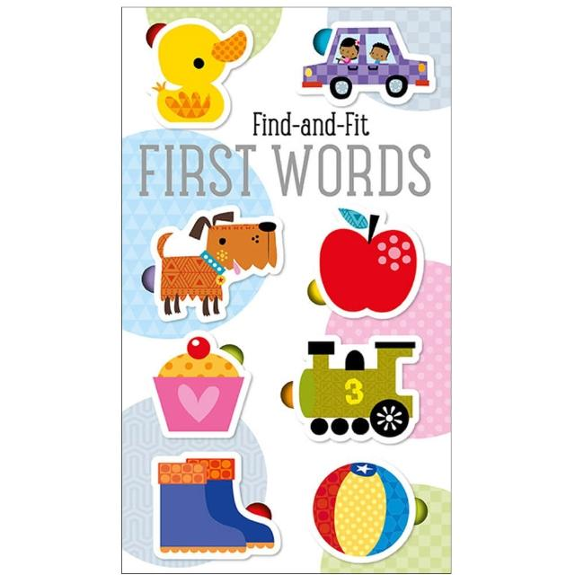 【Song Baby】Find And Fit:First Words 拼拼圖學單字(拼圖書-美國版)