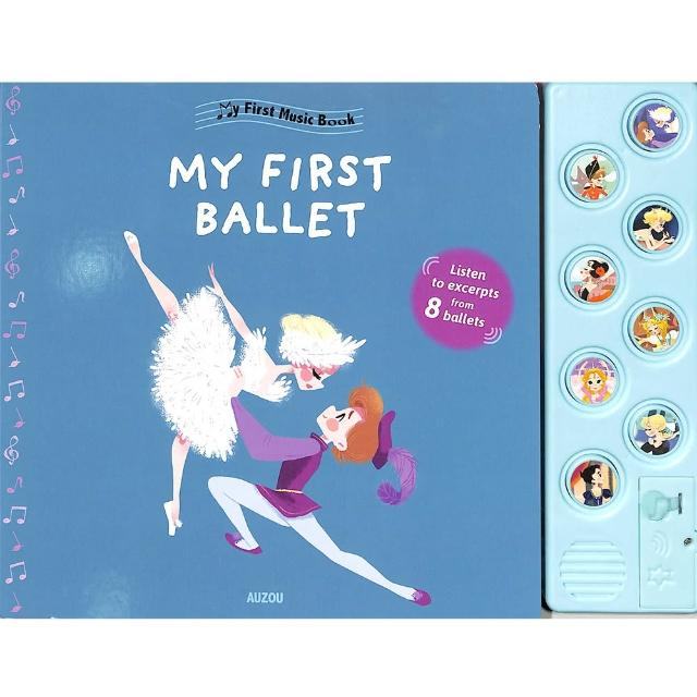 【Song Baby】First Music Book:My First Ballet 芭蕾舞音樂書(有聲書)
