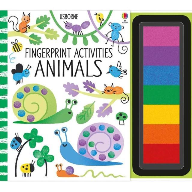 【Song Baby】Fingerprint Activities:Animals 指印玩樂遊戲書:動物篇(指印畫)