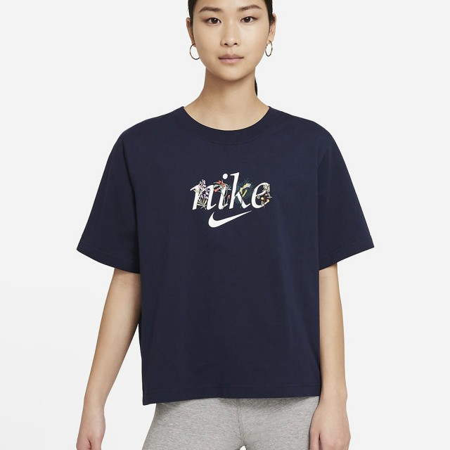 【NIKE 耐吉】AS W NSW TEE BOXY NATURE 女 短袖上衣 黑(DD1457451)