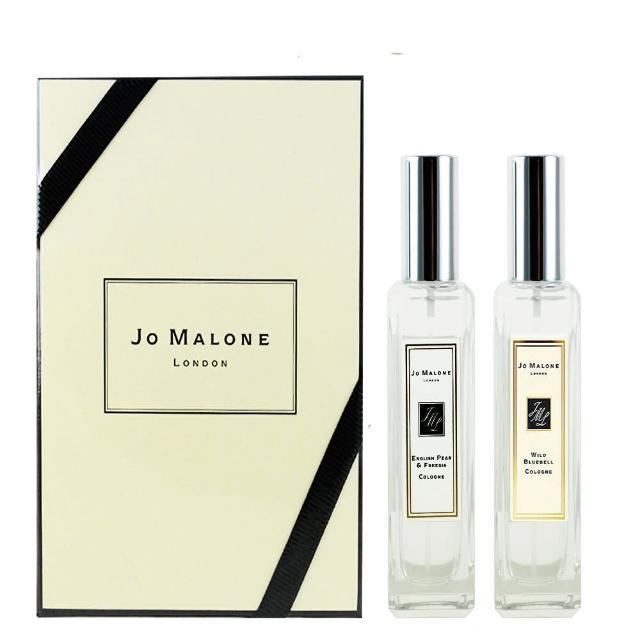 【Jo Malone】英國梨與小蒼蘭及藍風鈴古龍水30ml禮盒組(贈原廠提袋乙入)