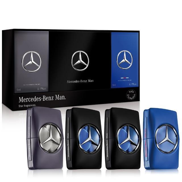 【Mercedes-Benz 賓士】亞洲版四入小香禮盒(原廠公司貨)