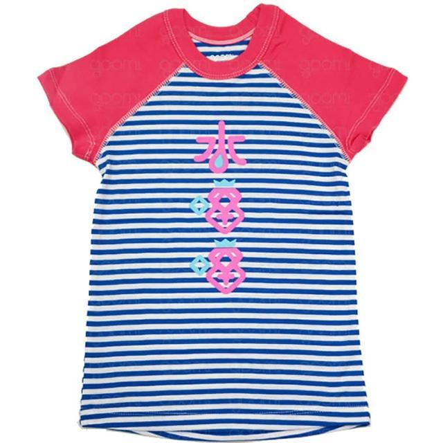 【goomi】台灣第一文創童裝 - 水噹噹 拉格蘭短袖T恤(條紋系列)