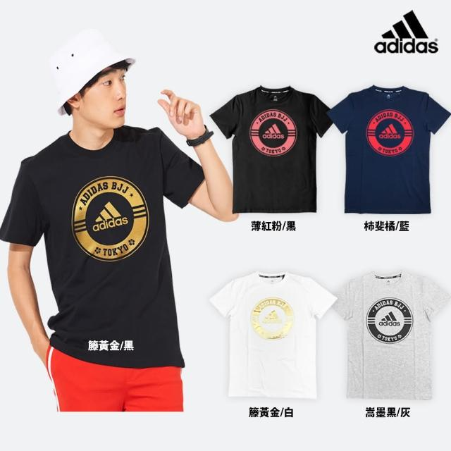 【adidas 愛迪達】adidas x Tokyo 短袖T恤(男女款 多色任選)