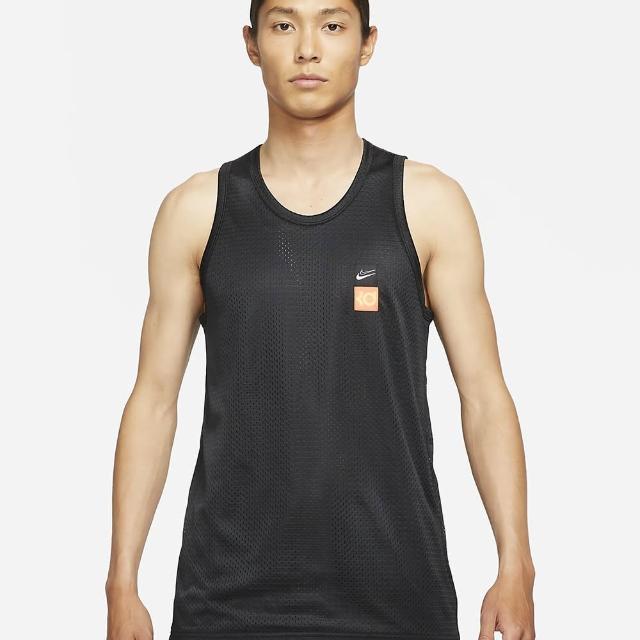 【NIKE 耐吉】AS KD M NK MESH JERSEY 中 籃球背心 黑(CV2408010)