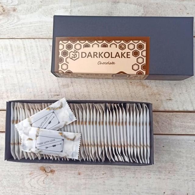 【多儂莊園工坊】75% 黑巧克力 45片 禮盒(巧克力禮盒 Darkolake)