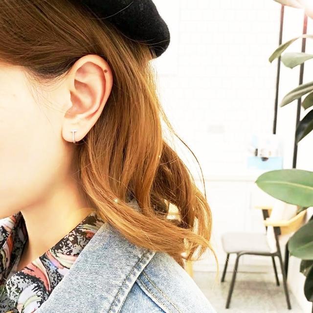 【Anpan】韓國東大門極簡金屬耳扣耳環