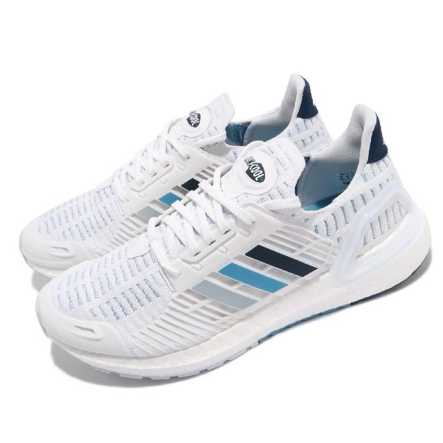【adidas 愛迪達】慢跑鞋 Ultraboost CC_1 運動 男鞋 愛迪達 輕量 透氣 舒適 避震 路跑 白 藍(GX7811)