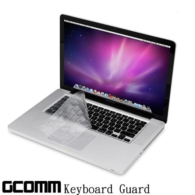 【GCOMM】Apple MacBook Pro/Retina/Air 13/15/17吋 鍵盤保護膜(內附GCOMM ScreenCleanPRO抗靜電清潔布)