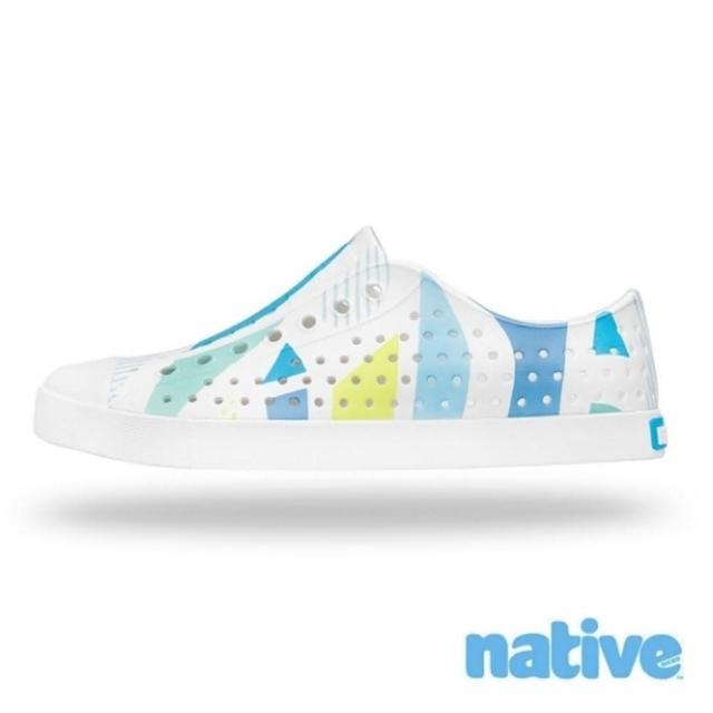 【native】JEFFERSON BLOCK 幾何圖形休閒洞洞鞋NO.11100101-8919
