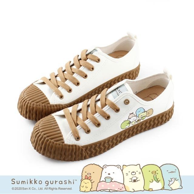 【Paidal】角落小夥伴 觀察小植栽變色餅乾鞋帆布鞋(小白鞋)