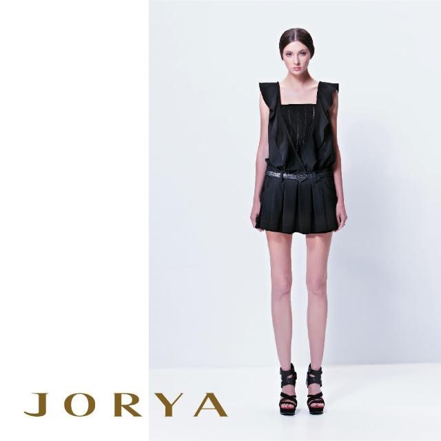 【JORYA】13TE102簍空羅紋平口針織背心上衣