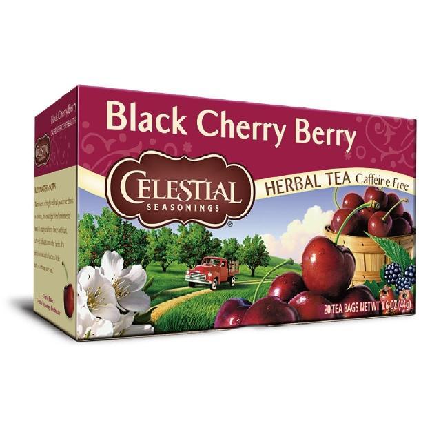 【Celestial 詩尚草本】美國進口 黑櫻桃莓果茶2盒組(20環保包 x 2)