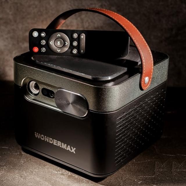 Wondermax AP3 Plus 高階微型投影機(Wondermax 投影機 FHD 4K 流明 露營 追劇 電視 投頻 投影 無線)