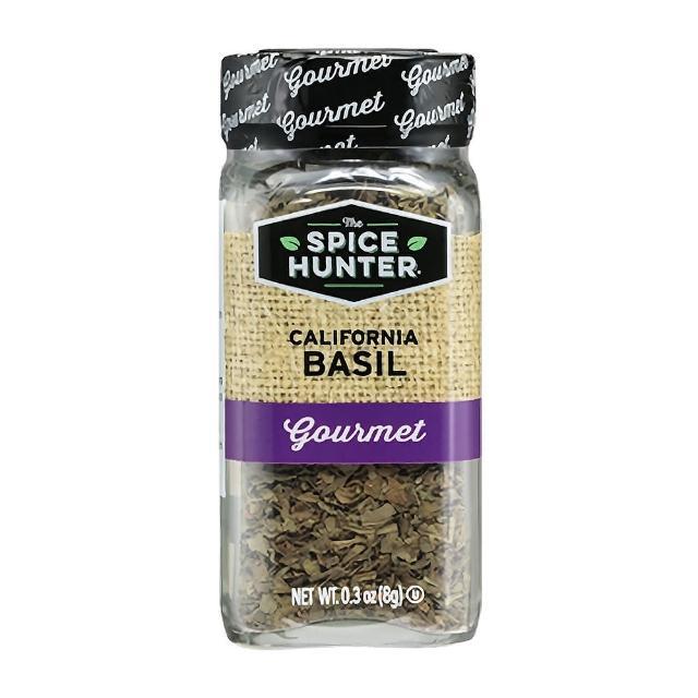 【Spice Hunter 香料獵人】美國進口 羅勒碎片(8g)