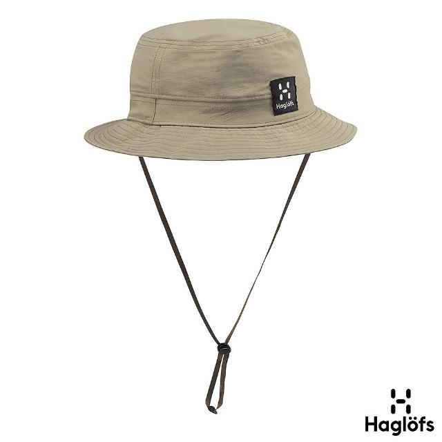 【Haglofs】透氣防潑水 遮陽漁夫帽(青苔色)
