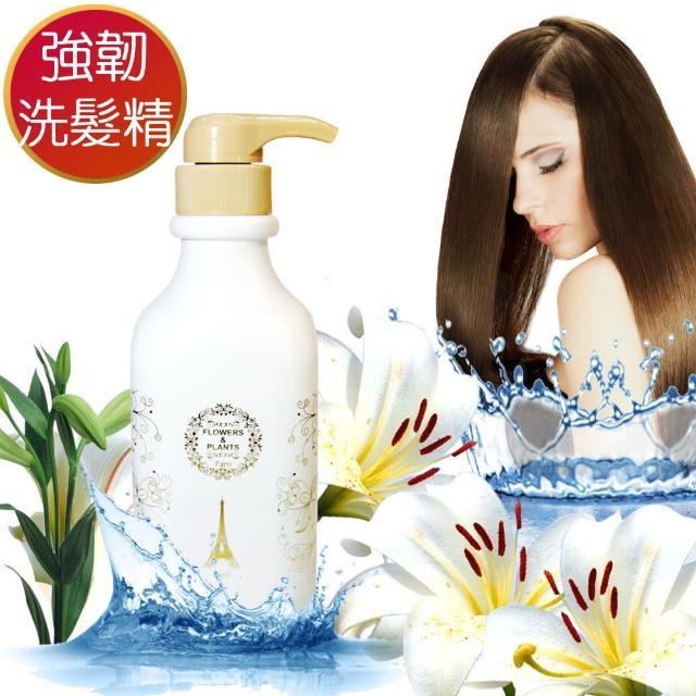 【愛戀花草】強韌髮質-香橙花精油洗髮潤絲組(洗髮精1000MLx2+潤絲精1000ML)