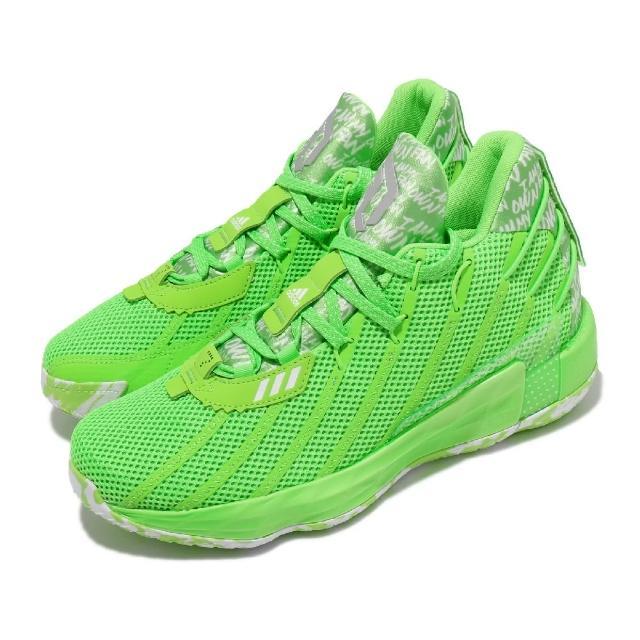 【adidas 愛迪達】籃球鞋Dame 7 GCA 運動 男鞋 海外限定 愛迪達 避震 包覆 明星款 綠 白(FY2797)